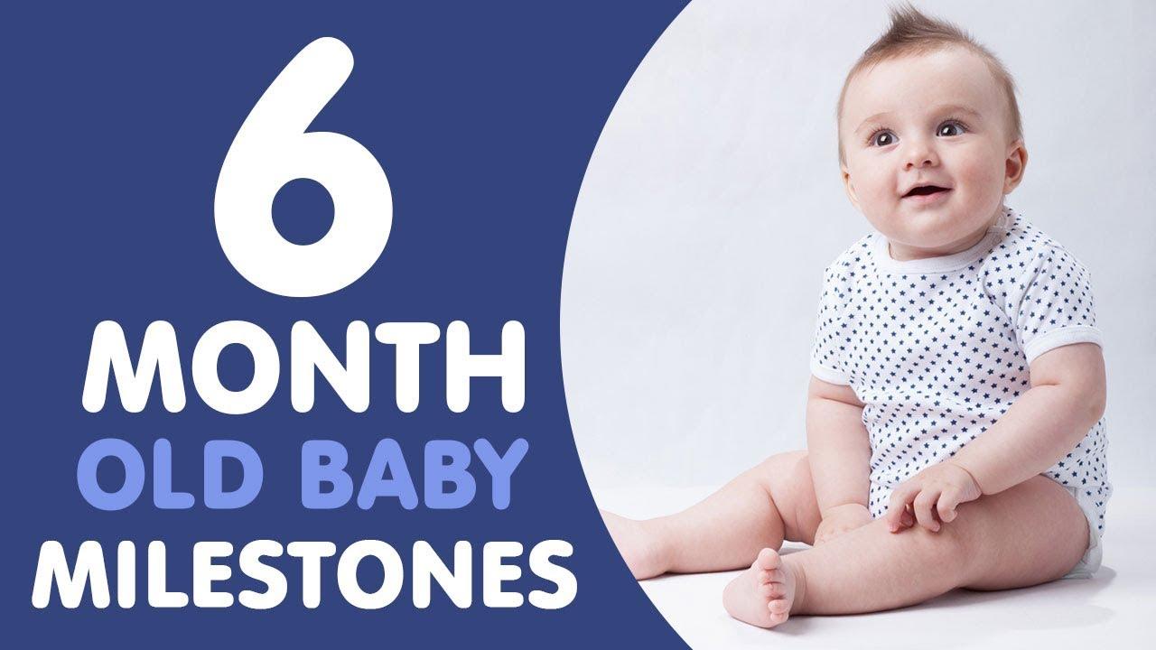 Motor milestones 6 months