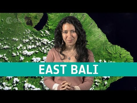 Earth from space: East Bali