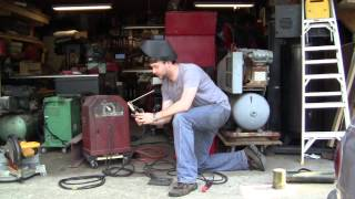 Demonstrating my two Lincoln AC225 Arc Welders thumbnail