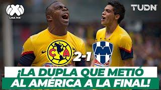 ¡Imparables! | El Ame elimina a Rayados y regresan a una final | América vs Monterrey - 2013 | TUDN