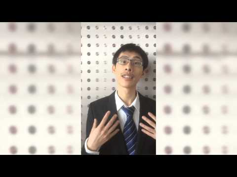 John See Jing Leung, Asia-Pacific Speak Out for Engineering competition 2014
