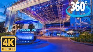 360º 4K Ride on Test Track at EPCOT