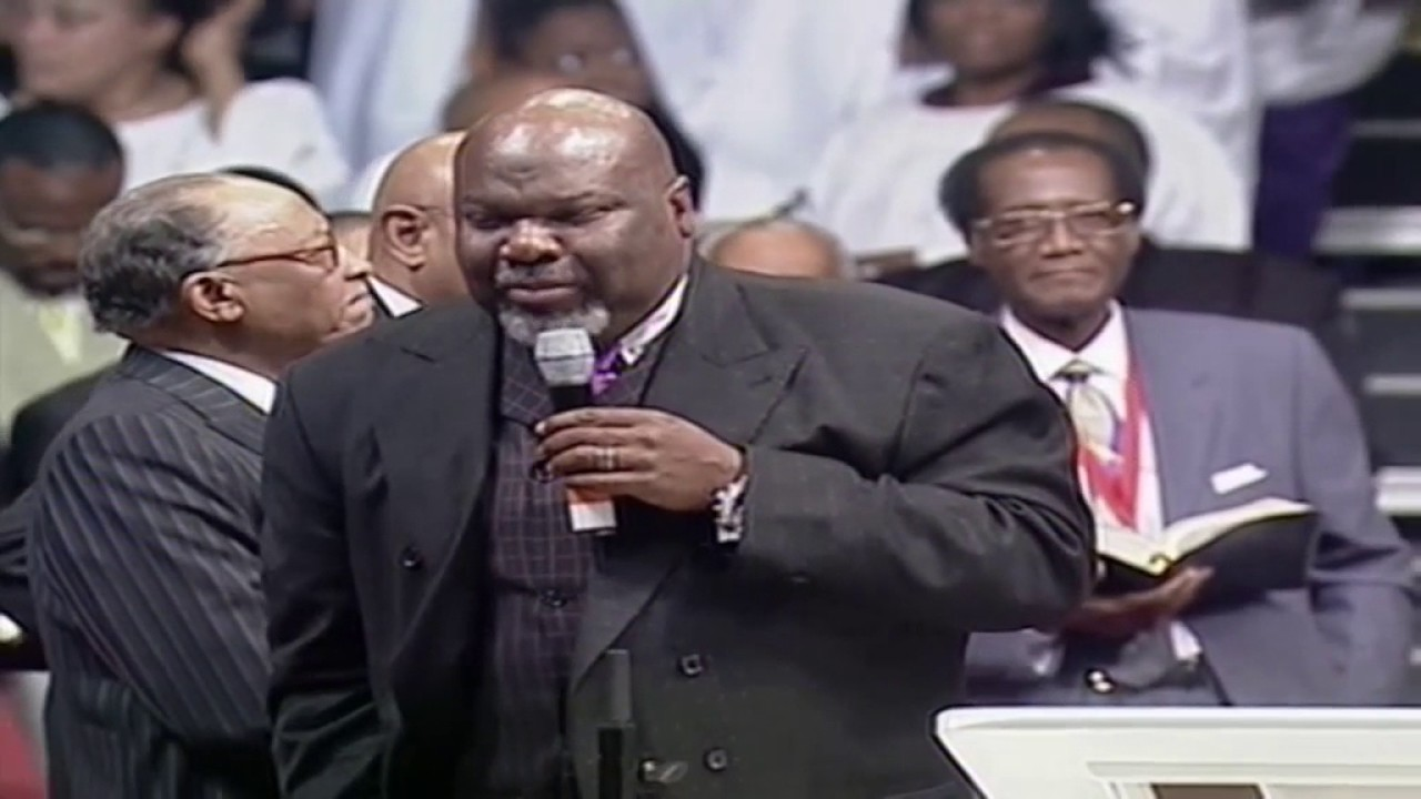 Bishop T D  Jakes Preaching At The COGIC Holy Convocation In Memphis!