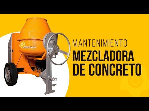 Mantenimiento 📣 Mezcladora de Concreto - Maquitec thumbnail