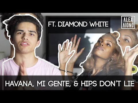 Havana Mi Gente & Hips Don't Lie Mashup  Alex Aiono Mashup ft Diamond White