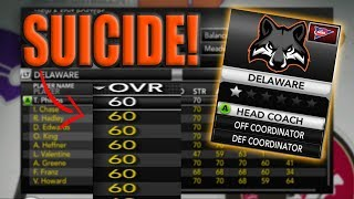 IMPOSSIBLE REBUILD! NCAA Football 14 Dynasty Delaware Black Foxes [Ep.11]