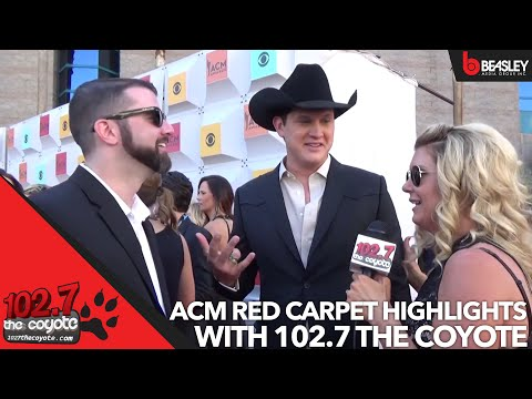 ACM Awards Red Carpet Highlights with 102.7 The Coyote