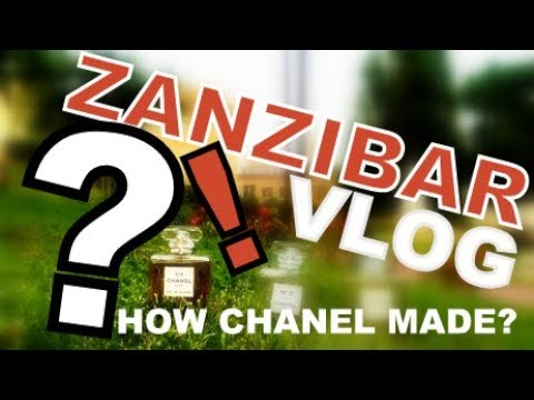 ZANZIBAR ISLAND SPICE TOUR - HOW CHANEL NO 5 MADE IN AFRICA TANZANIA VLOG