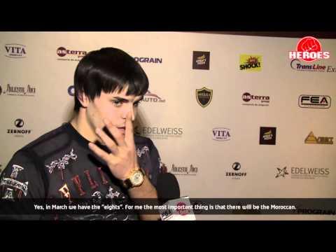 Gala K-1 Republica Moldova interview with Constantin Tutu