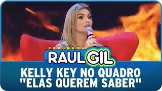 Programa Raul Gil (21/03/15) - Kelly Key no