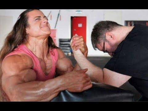 When Women Destroy Men In Armwrestling   Strongest Women   Bodybuilding Motivation 2018