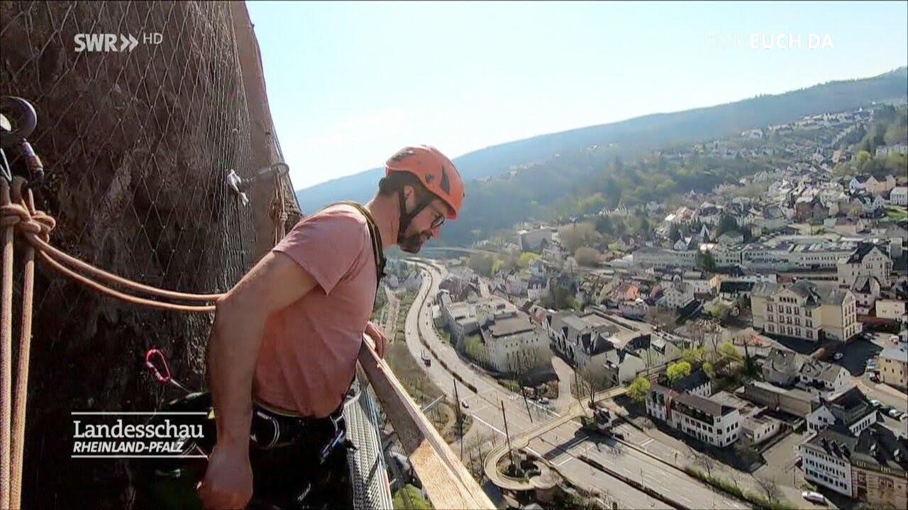 Idar  Oberstein 2020: Die gefährliche Arbeit an der Felsenkirche