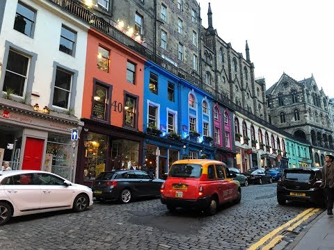 UK Adventure Part V: A Walking Tour of Old Town Edinburgh, S