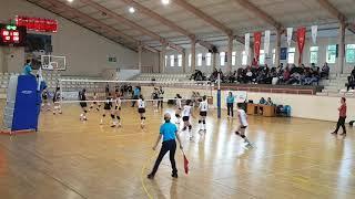 Beşiktaş  - Bahçelievler Voleybol Kucuk Kizlar Voleybol Maçı  1.set