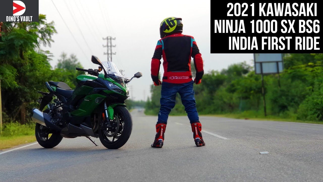 2021 Kawasaki Ninja 1000SX BS6 India First Ride Review Cruise Control Demo #Bikes@Dinos