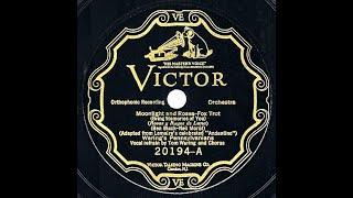 1926 Fred Waring - Moonlight And Roses (Tom Waring & chorus vocal)