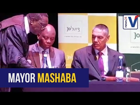 WATCH: Johannesburg mayor Mashaba sworn into office
