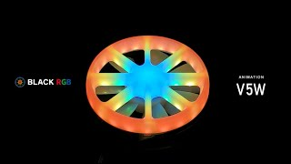 BLACK RGB Light Modes / V5W