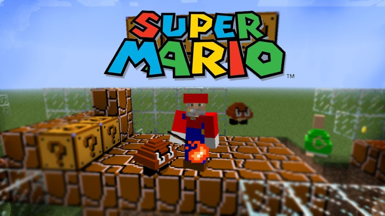 minecraft mario mod download