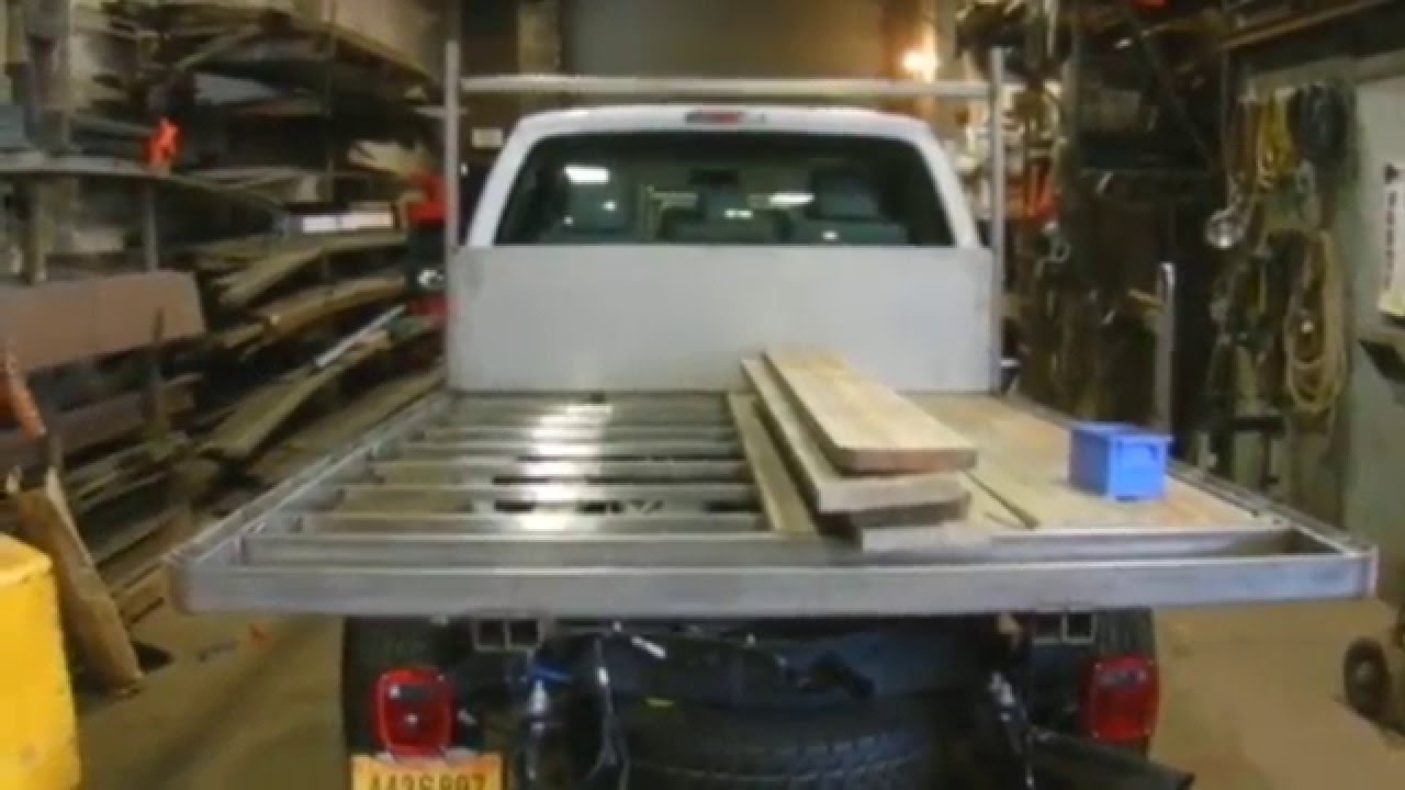 Custom Stainless Steel Flatbed - YouTube