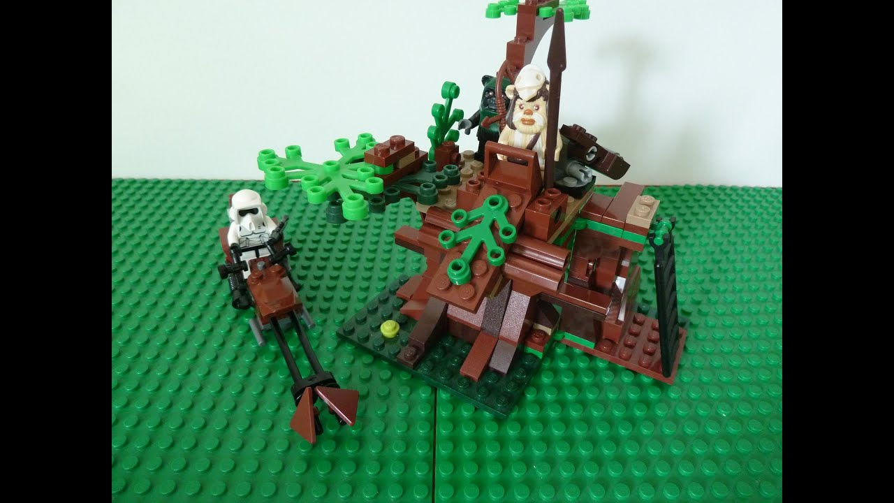 LEGO 7956 LEGO STAR WARS Ewok Attack