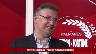 Palmarès des Fournisseurs 2021 - Bouygues Immobilier