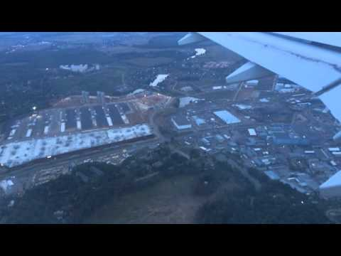 Air Armenia A-320 Landing In Moscow Vnukovo Airport