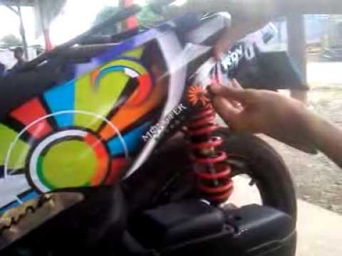 PEMASANGAN STRIPING ATAU DECAL MIO SPORTY YouTube - Mio decalsmioonepiece youtube