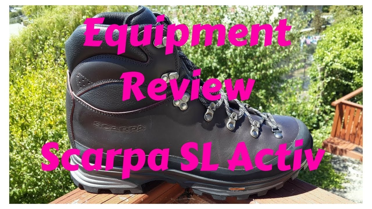 f3f3407495d Equipment Review - Scarpa SL Active Hiking Boot