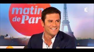 Yannick Bisson dans les matins de Paris sur FR3