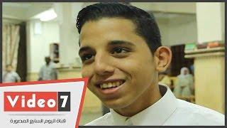 أحمد صابر .. إمام التراويح الصغير ..