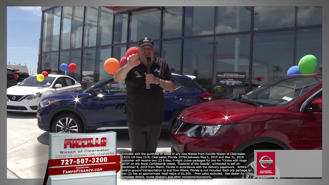 Fuccillo Nissan Clearwater >> Wild Weekends Fuccillo Nissan Of Clearwater Grand Opening