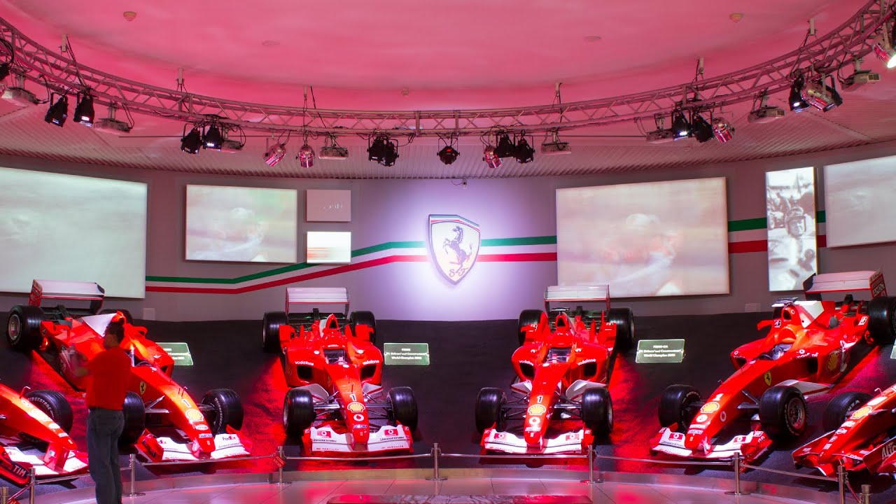 ferrari museum of maranello the hall of victory 2015 hq. Black Bedroom Furniture Sets. Home Design Ideas