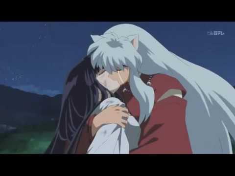 Inuyasha Kikyo Kissing