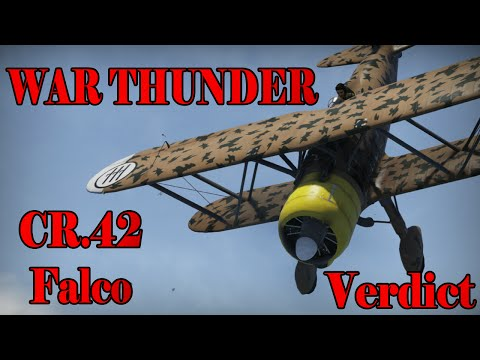 War Thunder -CR.42 Falco Final Verdict