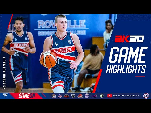 Feb 7, 2021 MBL 2K20: Harry Love game highlights against Blackburn Griffins