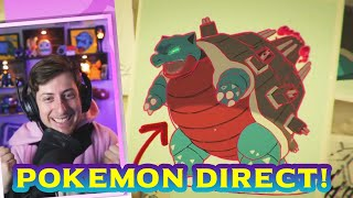 Pokemon Direct Reaction - Isle of Armor & The Crown Tundra - New Gigantamax and Pokemon Expansion