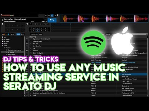 como usar virtual dj con spotify