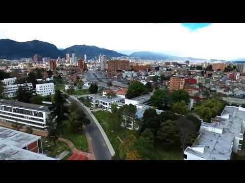 Campus de MI Universidad Nacional de Colombia con Dron