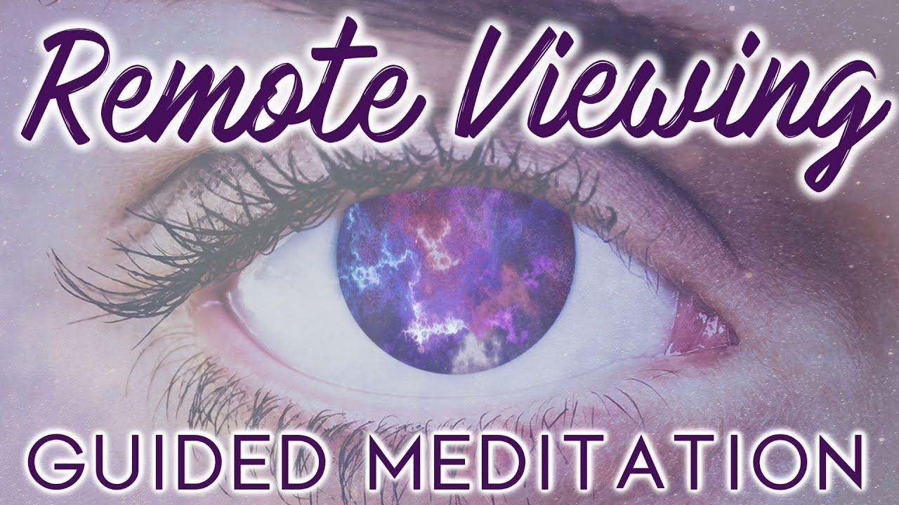 Meditation Remote Viewing