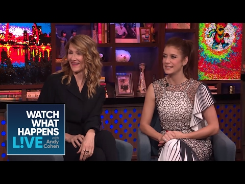 Laura Dern And Kate Walsh See Through Your Lies - WWHL