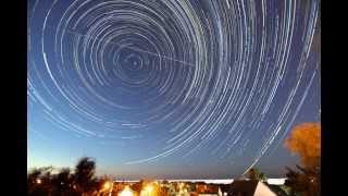 Astronomie - Time lapse et filé d'étoiles de la soirée du 12 aout 2013