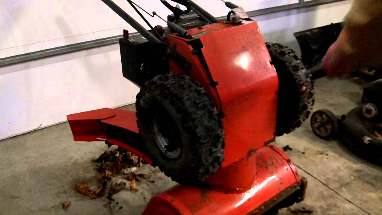 Snow Thrower Transmissions : Simplicity snow blower transmission quick fix youtube