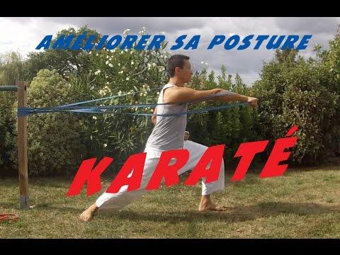 Préparation physique Karaté - Améliorer ses postures en karaté