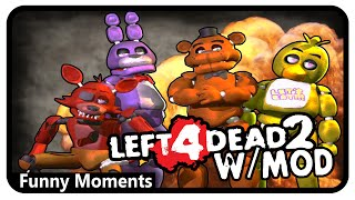 Left 4 Dead 2 Gameplay | Five Nights At Freddy's Mod (Funny Moments)