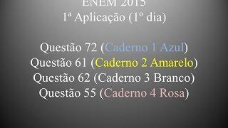 ENEM 2015 - Questão 72 (Caderno 1 Azul)