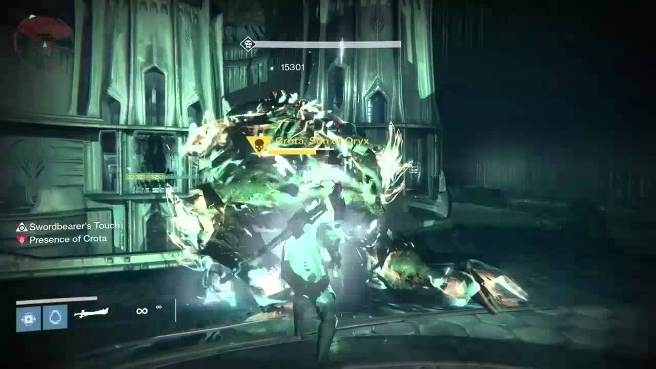 Hard Crota In 2 Swords Simple Technique Destiny Youtube