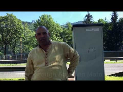 Travel Log PART 4: Entering Austria London to Pakistan by road Raja Tariq Mehmood w/ Family