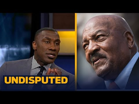 Jim Brown criticizes Colin Kaepernick  Shannon on why he's 'terribly  disappointed'  UNDISPUTED