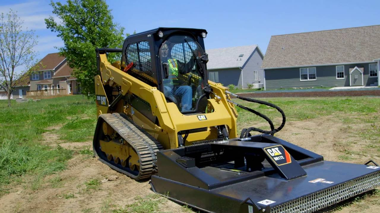 Cat 174 Brushcutter Attachment Operating Tips Youtube